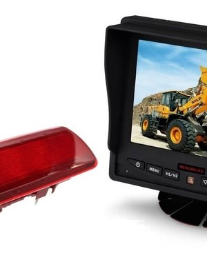 RVS-systemen Opel Vivaro (2014-heden) Remlichtcamera Monitor 5 inch RVM-560