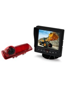 RVS-systemen Nissan  NV300 (2016-heden) Remlichtcamera Monitor 5 inch RVM-560