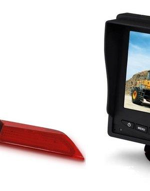 RVS-systemen Ford Transit  Custom Klep (2014-heden) Remlichtcamera Monitor 5 inch RVM-560