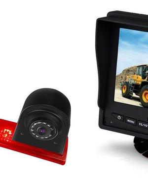 RVS-systemen Ford Transit Custom Led (2016-heden) Remlichtcamera Monitor 5 inch RVM-560