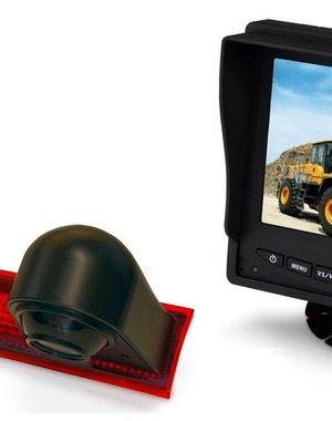 RVS-systemen Ford Transit Custom (2012-mei 2016) Remlichtcamera Monitor 5 inch RVM-560