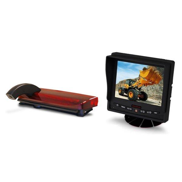 RVS-systemen Ford Transit Connect (2013-heden) Remlichtcamera Achteruitrijcamera Monitor 5 inch RVM-560