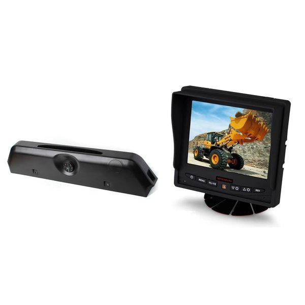 RVS-systemen Iveco Daily (2014-2018) Remlichtcamera Achteruitrijcamera Monitor 5 inch RVM-560