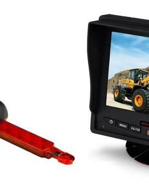 RVS-systemen Hella Enkele Achteruitrijcamera  Monitor 5 inch RVM-560