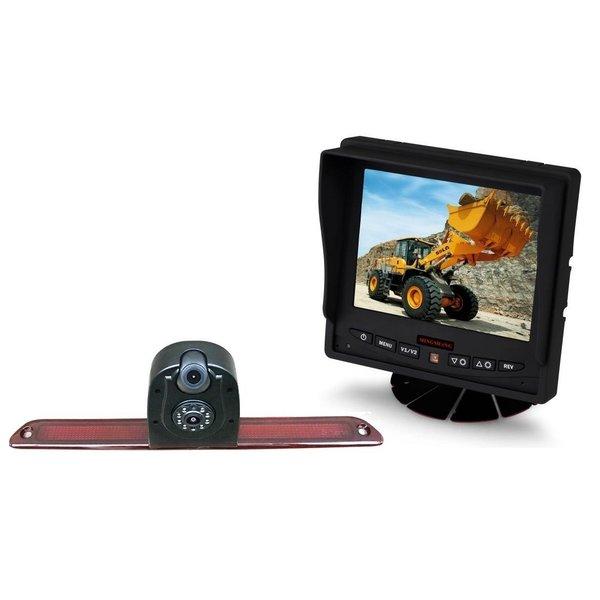RVS-systemen Mercedes Sprinter Dubbele Camera  (2007-heden) Monitor 5 inch RVM-560
