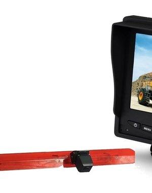 RVS-systemen Mercedes Vito (2016-heden) Remlichtcamera Monitor 5 inch RVM-560