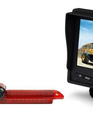 RVS-systemen VW Crafter Led (2007-heden) Remlichtcamera Monitor 5 inch RVM-560