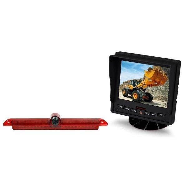 RVS-systemen  VW Crafter Led (2007-heden) Remlichtcamera Achteruitrijcamera Monitor 5 inch RVM-560