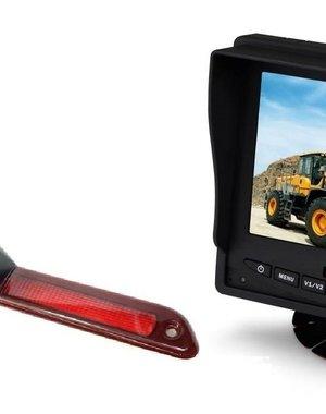 RVS-systemen VW Crafter Laag (2016-heden) Remlichtcamera  Monitor 5 inch RVM-560