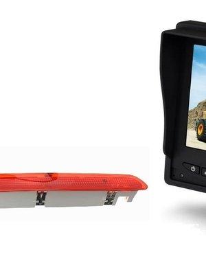 RVS-systemen VW Transporter T6 Klep (2003-2015) Remlichtcamera Monitor 5 inch RVM-560