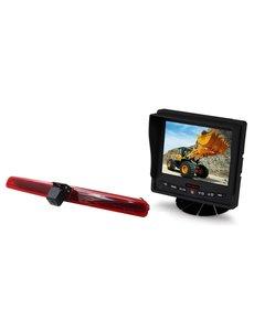 RVS-systemen VW Transporter T5 Klep (2003-2015) Remlichtcamera  Monitor 5 inch RVM-560