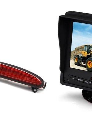 RVS-systemen IVECO Daily (2014 -2018) Remlichtcamera Monitor 5 inch RVM-560