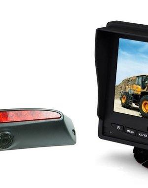 RVS-systemen IVECO Daily (2011-2014) Remlichtcamera Monitor 5 inch RVM-560