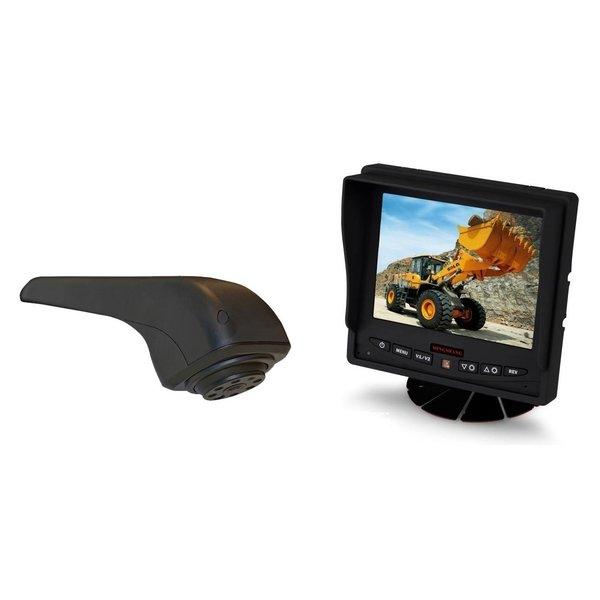 RVS-systemen VW Crafter Originele (2017-heden) Remlichtcamera Achteruitrijcamera Monitor 5 inch RVM-560