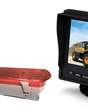 RVS-systemen Opel Combo (2011–2017) Remlichtcamera  Monitor 5 inch RVM-560