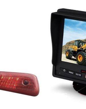 RVS-systemen Peugeot Expert (2007-2016) Remlichtcamera Monitor 5 inch RVM-560