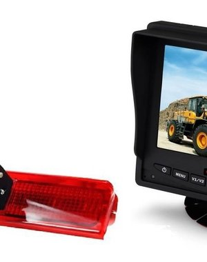 RVS-systemen VW Caddy (2008-2016) Remlichtcamera  Monitor 5 inch RVM-560