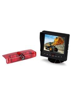 RVS-systemen Chevrolet Express GMC Savana (2003-2016) Remlichtcamera  Monitor 5 inch RVM-560