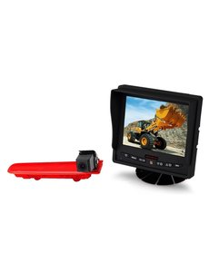 RVS-systemen VW Transporter T5 (2010-heden) Remlichtcamera  Monitor 5 inch RVM-560