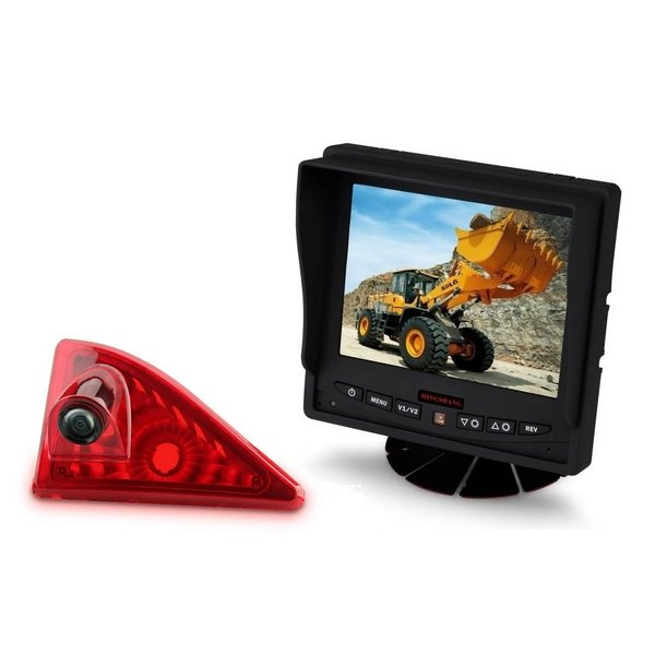 RVS-systemen Nissan NV400 (2010 -heden) Remlichtcamera Monitor 5 inch RVM-560