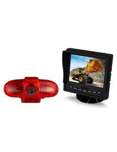 RVS-systemen Opel Vivaro (2001-2014) Remlichtcamera Monitor 5 inch RVM-560