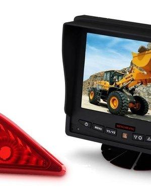 RVS-systemen Opel Movano (2010-heden) Remlichtcamera Monitor 5 inch RVM-560