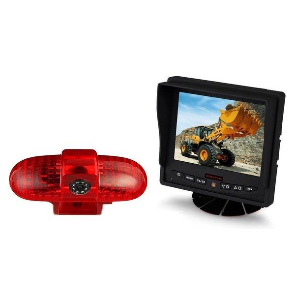 RVS-systemen Renault Trafic (2001-2014) Remlichtcamera Monitor 5 inch RVM-560