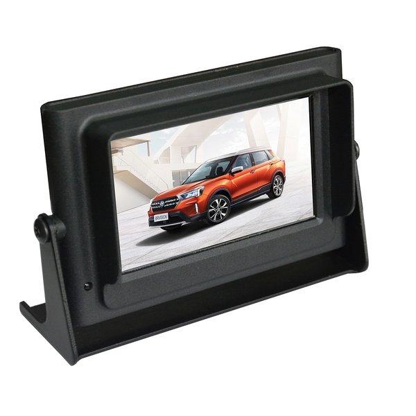 RVS-systemen Waterdicht en Stofdicht Achteruitrijcamera Monitor 4.3 Inch Waterproof RVB- 440