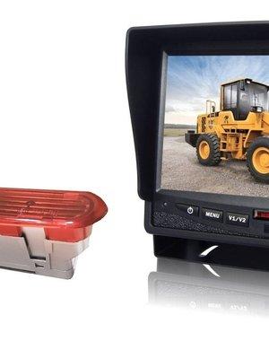 RVS-systemen Opel Combo (2011–2017) Remlichtcamera  Monitor 7 inch RVM-780