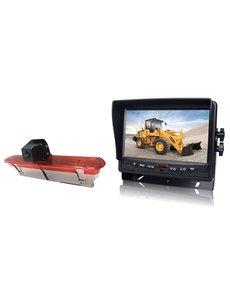 RVS-systemen Fiat Dublo (2010–heden) Remlichtcamera  Monitor 7 inch RVM-780