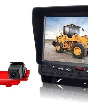 RVS-systemen VW Transporter T5 (2010-heden) Remlichtcamera  Monitor 7 inch RVM-780
