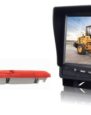 RVS-systemen VW Transporter T6 Klep (2016-heden) Remlichtcamera Monitor 7 inch RVM-780