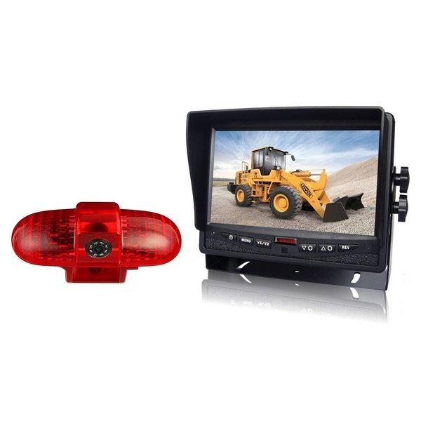RVS-systemen Renault Trafic (2001-2014) Remlichtcamera Monitor 7 inch RVM-780