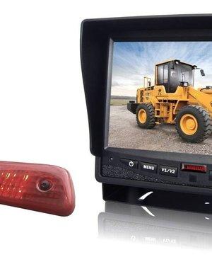 RVS-systemen Peugeot Expert (2007-2016) Remlichtcamera Monitor 7 inch RVM-780