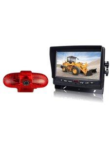 RVS-systemen Opel Vivaro (2001-2014) Remlichtcamera Monitor 7 inch RVM-780