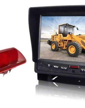 RVS-systemen Opel Vivaro (2014-heden) Remlichtcamera Monitor 7 inch RVM-780