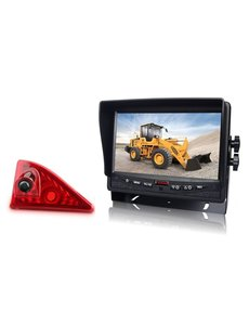RVS-systemen Nissan NV400 (2010 -heden) Remlichtcamera Monitor 7 inch RVM-780