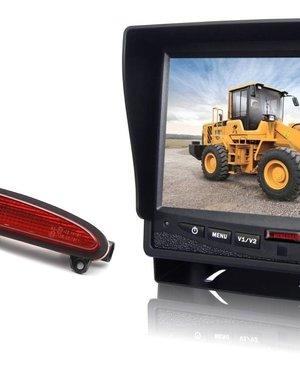 RVS-systemen IVECO Daily (2014 -2018) Remlichtcamera Monitor 7 inch RVM-780