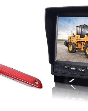 RVS-systemen Mercedes Sprinter Hoog (2007- heden) Remlichtcamera Monitor 7 inch RVM-780