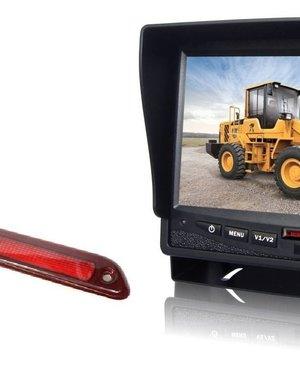 RVS-systemen Mercedes Sprinter Laag (2007- heden) Remlichtcamera Monitor 7 inch RVM-780
