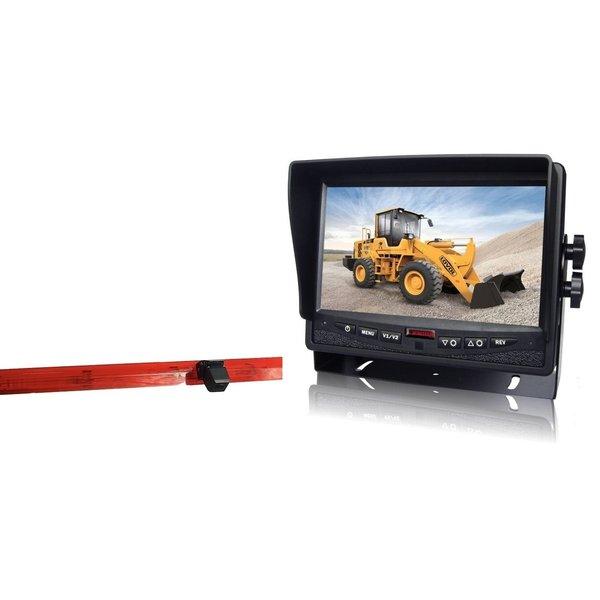RVS-systemen Mercedes Vito (2016-heden) Remlichtcamera Monitor 7 inch RVM-780