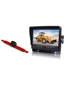 RVS-systemen Hella Enkele Achteruitrijcamera  Monitor 7 inch RVM-780
