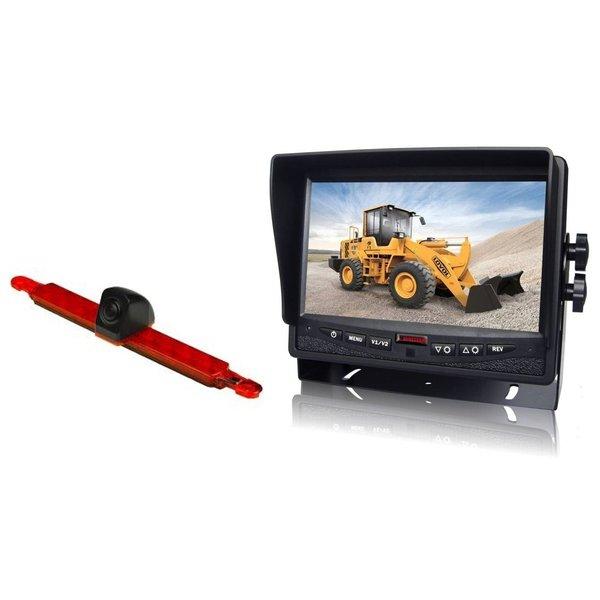 RVS-systemen Hella Achteruitrijcamera  Monitor 7 inch RVM-780