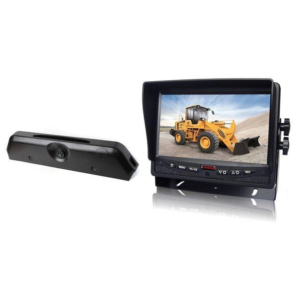RVS-systemen Iveco Daily (2014-2018) Remlichtcamera Achteruitrijcamera Monitor 7 inch RVM-780