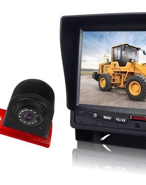 RVS-systemen Ford Transit Custom Led (2016-heden) Remlichtcamera Monitor 7 inch RVM-780