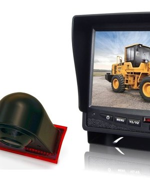RVS-systemen Ford Transit Custom (2012-mei 2016) Remlichtcamera Monitor 7 inch RVM-780