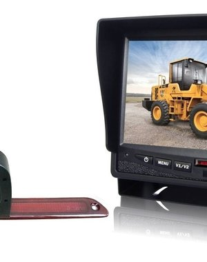 RVS-systemen VW Crafter (2007- heden) Dubbele Camera  Monitor 7 inch RVM-780