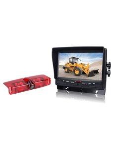 RVS-systemen Chevrolet Express GMC Savana (2003-2016) Remlichtcamera  Monitor 7 inch RVM-780