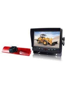 RVS-systemen VW Caddy (2008-2016) Remlichtcamera  Monitor 7 inch RVM-780