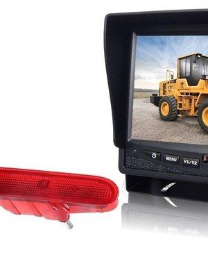 RVS-systemen Peugeot Partner (2008-2016) Remlichtcamera  Monitor 7 inch RVM-780